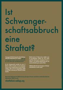 Homepage des What the Fuck Bündnisses über die Gegendemo zum Marsch für das Leben. Was sind die Gesetze zu Abtreibung in Deutschland. Sind Abtreibungen legal?